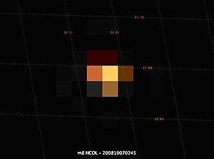 2008 TC3 - Image: M8 NCOL 200810070245