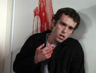 Marlon Dingle - Marlon is shot accidentally by Eli in the robbery (2007).