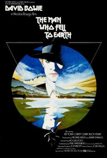<i>The Man Who Fell to Earth</i> 1976 British science fiction film by Nicolas Roeg