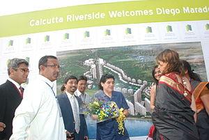 Calcutta Riverside - Maradonaat Calcutta Riverside
