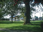 Comeford Park in Marysville, named for James and Maria Comeford.