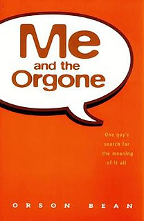 <i>Me and the Orgone</i> Book by Orson Bean