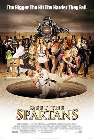 Meet the Spartans - Theatrical release poster