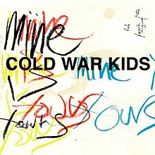 The cover features the band's name in bold black lettering. On the top-right corner, It features the date that the album was recorded and mixed sideways: Feb / March August / 2010. The album's title is shown in chalk-like lettering in black, yellow, red and blue.