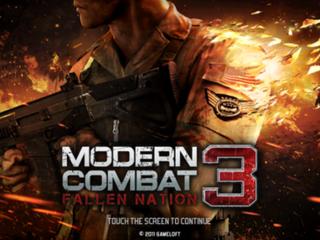 <i>Modern Combat 3: Fallen Nation</i>
