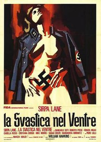 Nazi Love Camp 27 - Italian promotional poster