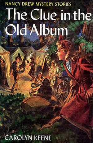 The Clue in the Old Album - Original edition cover