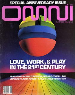 <i>Omni</i> (magazine) Former science and science fiction magazine