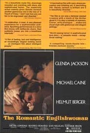The Romantic Englishwoman - original film poster