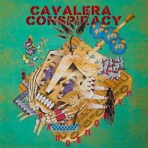 Pandemonium (Cavalera Conspiracy album) - Image: Pandemonium Cover (Cavalera Conspiracy)