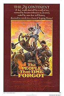 <i>The People That Time Forgot</i> (film) 1977 film by Kevin Connor