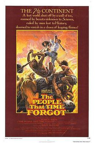 The People That Time Forgot (film) - US theatrical poster