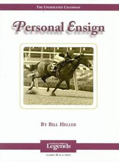 Personal Ensign American-bred Thoroughbred racehorse