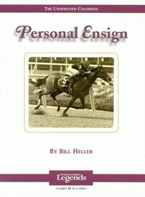 Personal Ensign - Image: Personal Ensign Book Cover