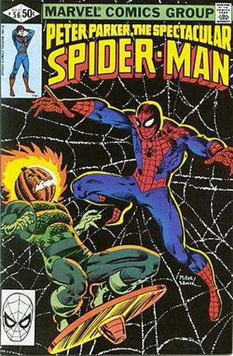 Jack O'Lantern (Marvel Comics) - Image: Peter Parker The Spectacular Spider Man (no. 56, front cover)
