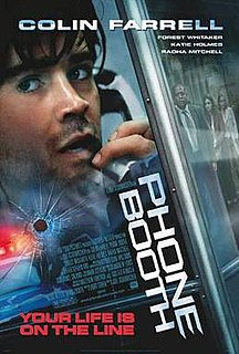 <i>Phone Booth</i> (film) 2002 film by Joel Schumacher