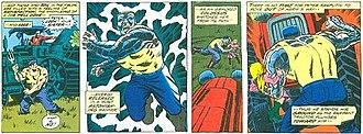 Colossus (comics) - Image: Piotr Saving Sister