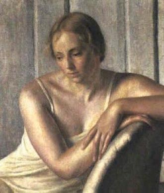 Marjorie Frances Bruford - Portrait of Midge Bruford , 1920 by Dod Procter