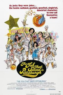 "Poster of the movie ""The Fish That Saved Pittsburgh"".jpg"