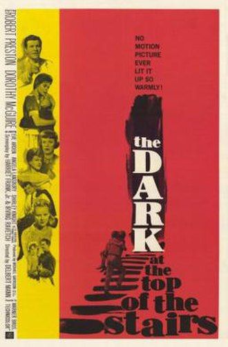 The Dark at the Top of the Stairs (film) - Theatrical poster for the film