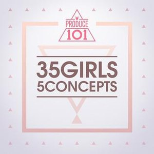 35 Girls 5 Concepts - Image: Produce 101 35 Girls 5 Concepts
