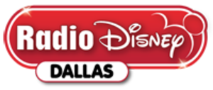 KLUV - Radio Disney Dallas logo used on KMKI until 2015. Still in use for KLUV's HD-3 signal.