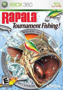 Rapala tournament fishing wikipedia for Xbox 360 fishing games