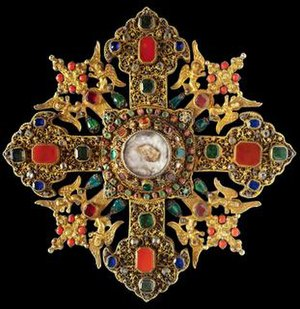 reliquary cross with relics of saint george wikipedia