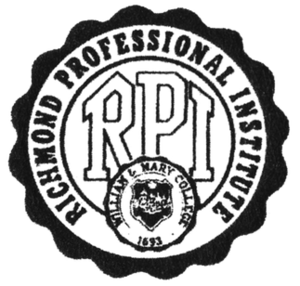 Richmond Professional Institute - RPI Logo