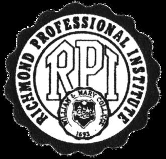 Richmond Professional Institute - RPI Logo