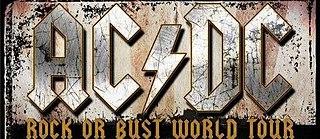 Rock or Bust World Tour concert tour by Australian rock band AC/DC