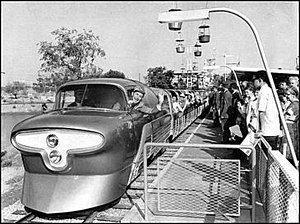 Viewliner Train of Tomorrow - Image: SFDL viewliner in 1957