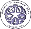 Official seal of Saginaw County