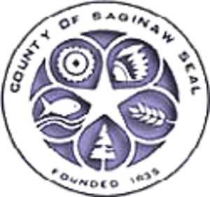 Saginaw County, Michigan - Image: Saginaw seal