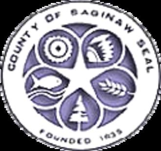 Saginaw County, Michigan - Image: Saginaw seal
