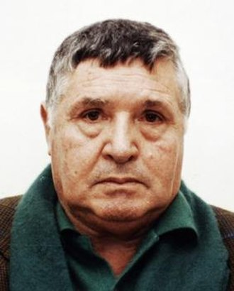 Salvatore Riina - Mugshot of Totò Riina after his arrest in 1993