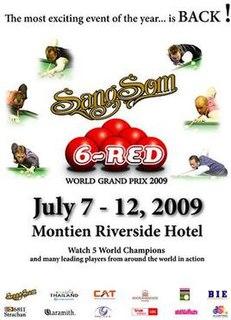 2009 Six-red World Grand Prix snooker tournament