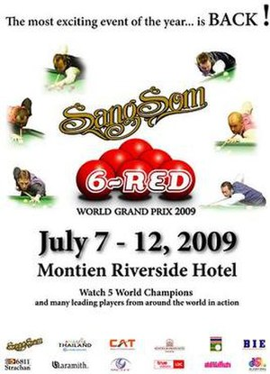 2009 Six-red World Grand Prix - Image: Sang Som 6 red World Grand Prix poster
