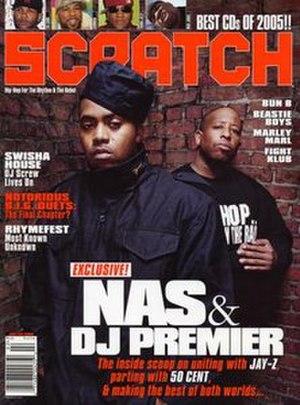 Scratch (magazine) - 2005 cover of Scratch