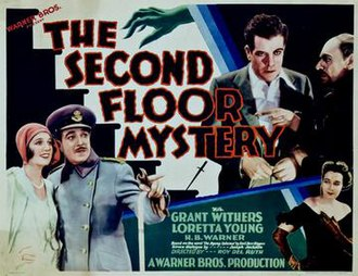The Second Floor Mystery - theatrical release poster