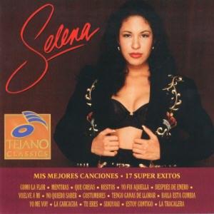 Mis Mejores Canciones - 17 Super Éxitos - Image: Selena 17 Super Exitos album cover
