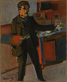 Self-portrait in studio by André Derain.jpg