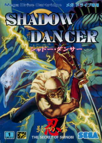 Shadow Dancer: The Secret of Shinobi - Japanese cover art