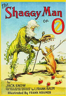 <i>The Shaggy Man of Oz</i> book by Jack Snow
