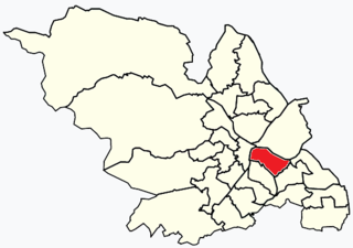 Manor, South Yorkshire Electoral ward in the City of Sheffield, South Yorkshire, England