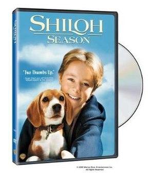 Shiloh 2: Shiloh Season - DVD cover