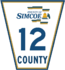 Simcoe Road 12 sign.png