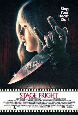 Stage Fright (2014 film) - Theatrical release poster