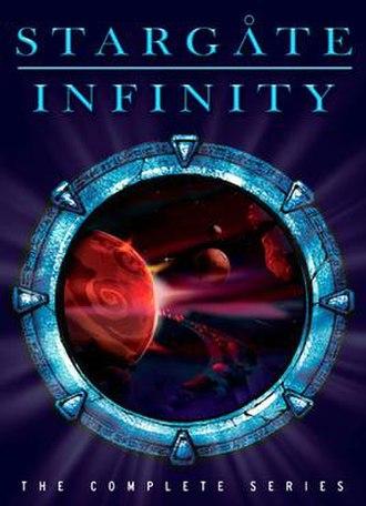 Stargate Infinity - Image: Stargate Infinity 2008 DVD cover