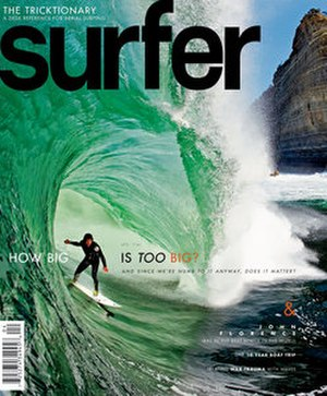 Surfer (magazine) - Surfer Magazine Cover April, 2011